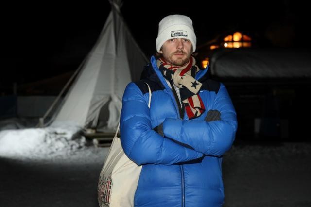 Andrew Funk poses in Davos, Switzerland January 22, 2020. REUTERS/Fejda Grulovic