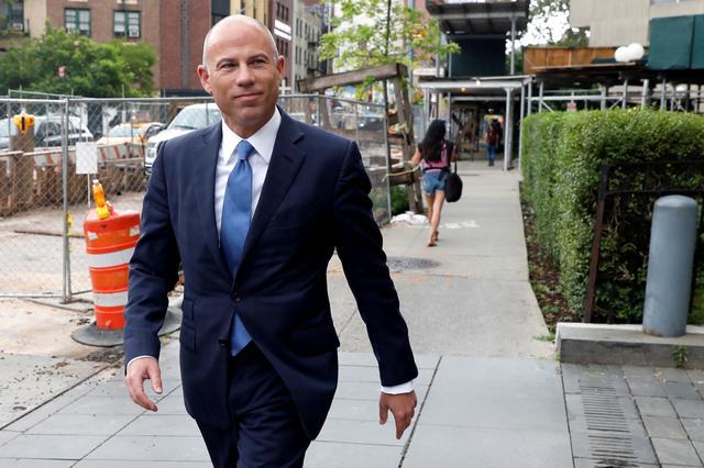 FILE PHOTO: Attorney Michael Avenatti arrives at United States Court in the Manhattan borough of New York City, New York, U.S., July 23, 2019. REUTERS/Mike Segar/File Photo