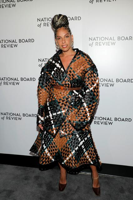 FILE PHOTO: Melina Matsoukas arrives for the National Board of Review Awards in Manhattan, New York City, U.S., January 8, 2020. REUTERS/Andrew Kelly