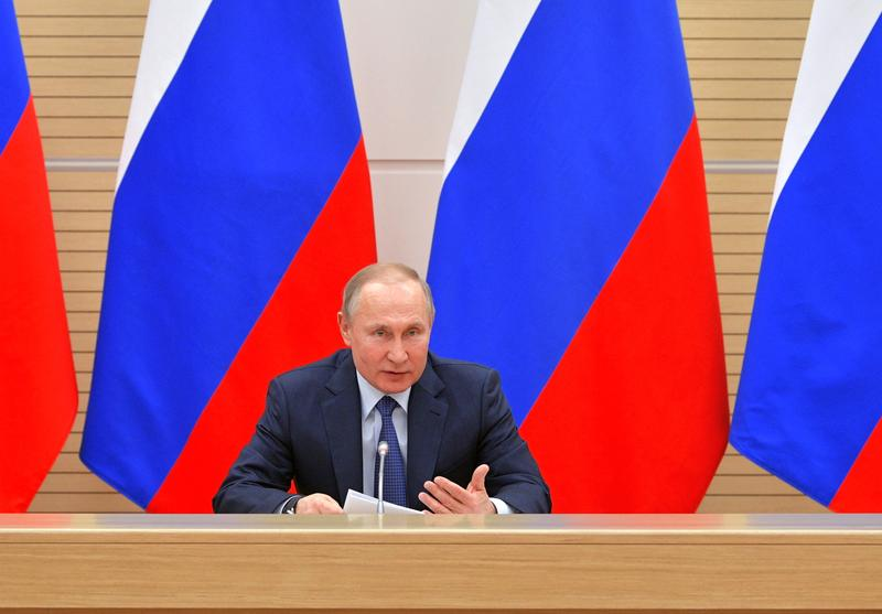 There will be dad and mum': Putin rules out Russia legalizing gay marriage    Reuters