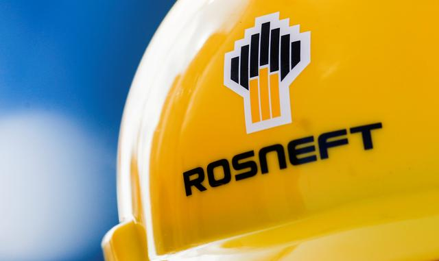 FILE PHOTO: The Rosneft logo is pictured on a safety helmet in Vung Tau, Vietnam April 27, 2018. REUTERS/Maxim Shemetov