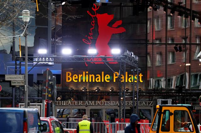 """A general view shows the """"Berlinale Palast"""" where the competition movies will be screened at the upcoming 70th Berlinale International Film Festival in Berlin, Germany, February 19, 2020.    REUTERS/Fabrizio Bensch"""