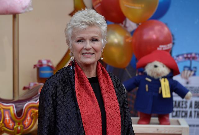FILE PHOTO: Actor Julie Walters poses for photographers at the world premiere of 'Paddington 2' at the BFI Southbank, in London, Britain November 5, 2017. REUTERS/Mary Turner