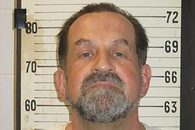 FILE PHOTO: Death row inmate Nicholas Todd Sutton is seen in an undated photo at Riverbend Maximum Security Institution in Nashville, Tennessee, U.S.   Tennessee Department of Correction/Handout via REUTERS