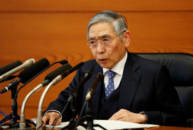 Bank of Japan Governor Haruhiko Kuroda speaks at a news conference in Tokyo, Japan, January 21, 2020. REUTERS/Kim Kyung-Hoon