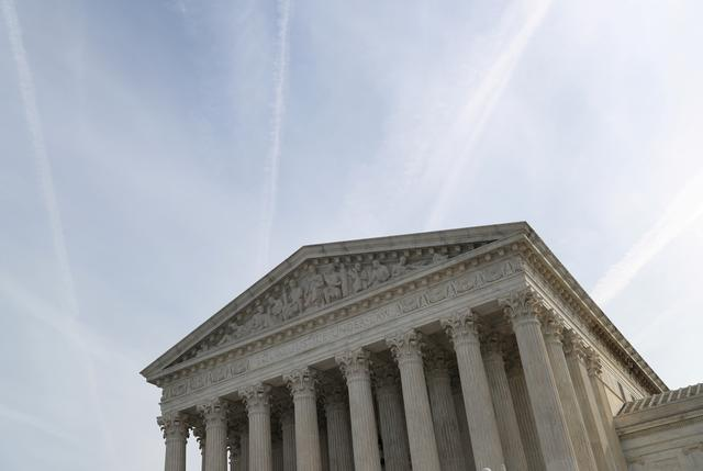 FILE PHOTO: The U.S. Supreme Court building is pictured in Washington, U.S., March 20, 2019. REUTERS/Leah Millis
