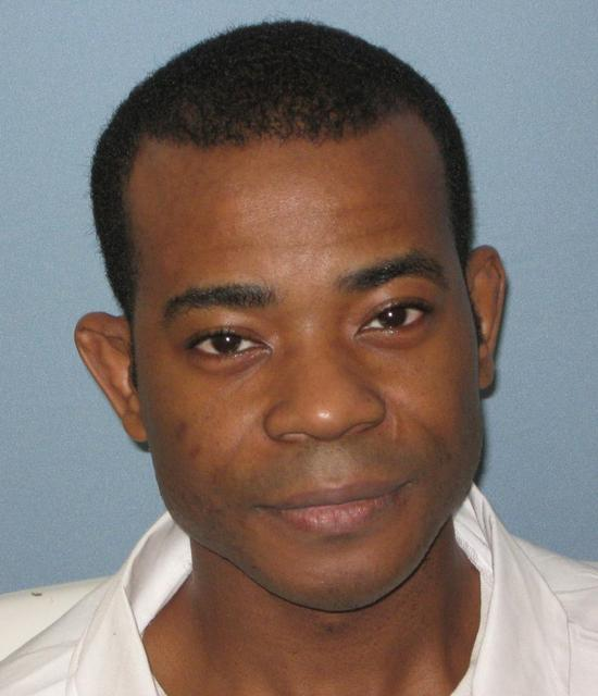 Death row inmate Nathaniel Woods is seen in Atmore, Alabama, U.S., in this photo provided March 5, 2020. Alabama Department of Corrections/Handout via REUTERS