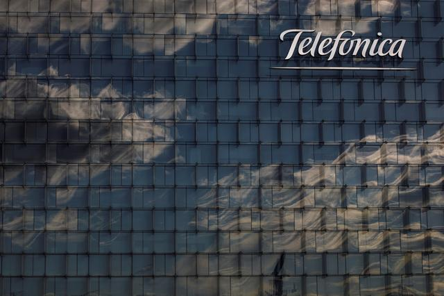 FILE PHOTO: A general view shows the Telefonica headquarters in Madrid, Spain, June 12, 2018. REUTERS/Juan Medina/File Photo