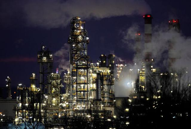 FILE PHOTO: The production site of petrochemical group Borealis is pictured in Schwechat February 20, 2013.  REUTERS/Heinz-Peter Bader/File Photo