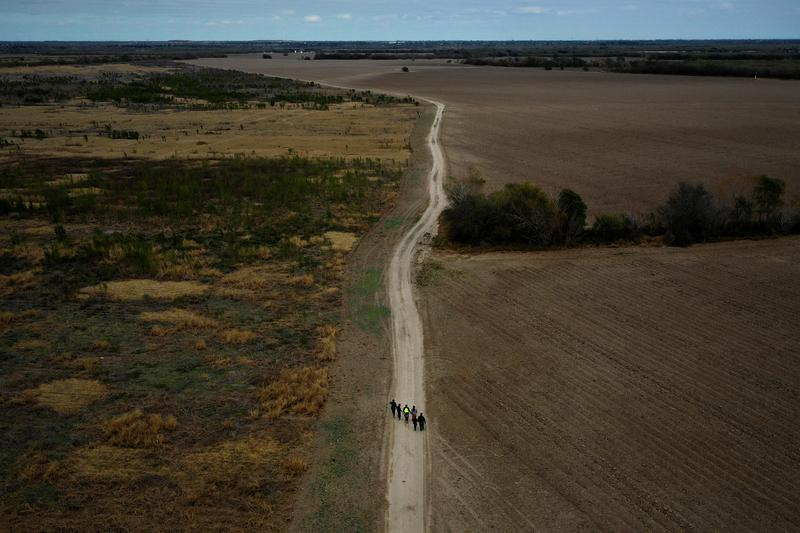A year documenting migration on the Rio Grande
