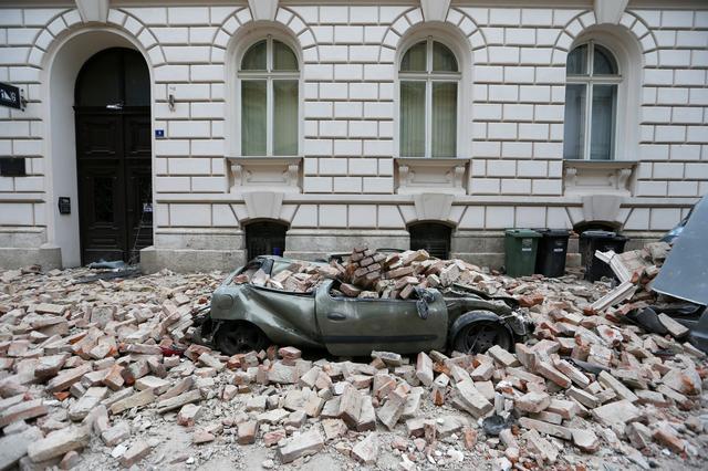 Powerful Quake Kills One Child In Croatia S Capital Health Official