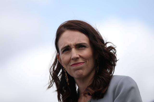FILE PHOTO: New Zealand Prime Minister Jacinda Ardern is seen during a joint press conference held with Australian Prime Minister Scott Morrison at Admiralty House in Sydney, Australia, February 28, 2020.  REUTERS/Loren Elliott