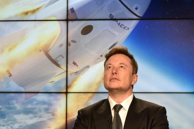 FILE PHOTO: SpaceX founder and chief engineer Elon Musk attends a post-launch news conference to discuss the  SpaceX Crew Dragon astronaut capsule in-flight abort test at the Kennedy Space Center in Cape Canaveral, Florida, U.S. January 19, 2020. REUTERS/Steve Nesius