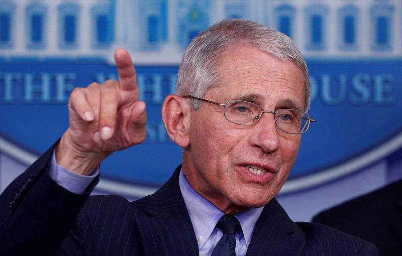 Dr. Fauci Says, 'I Don't Think It's Smart' for College Football to Pack Stadiums with Unmasked Fans