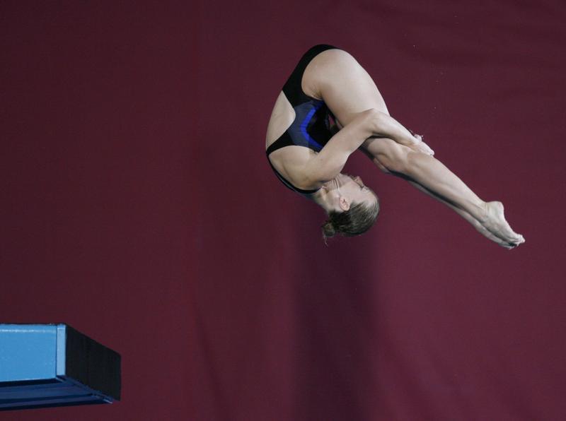 五輪=42歳の米女子飛び込み選手、東京大会延期は「贈り物」