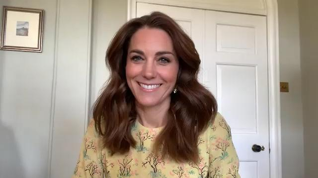 Britain's Catherine, Duchess of Cambridge, speaks about the community photography project in collaboration with the National Portrait Gallery, during an interview broadcasted on ITV's 'This Morning', in London, Britain, May 6, 2020. Kensington Palace/Handout via REUTERS