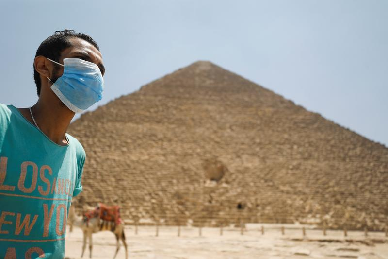 Egypt Reopens Airports And Welcomes Tourists To Pyramids After Covid Closure Reuters