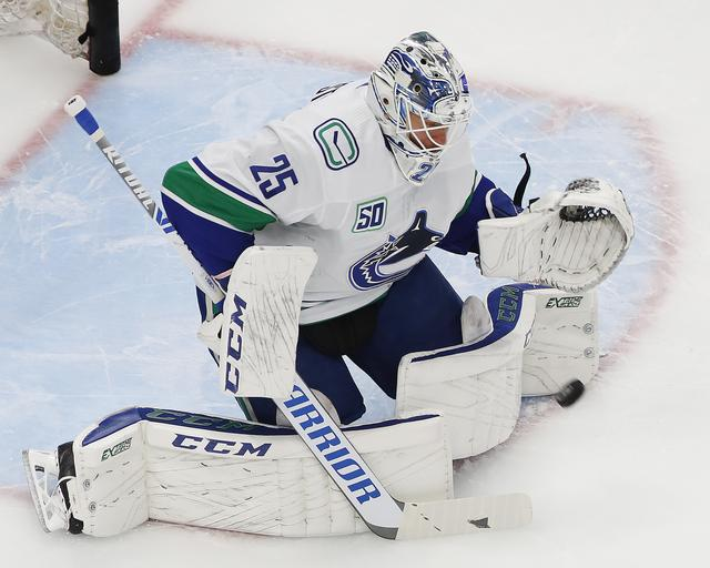 Canucks Come From Behind Take Series Lead Over Blues