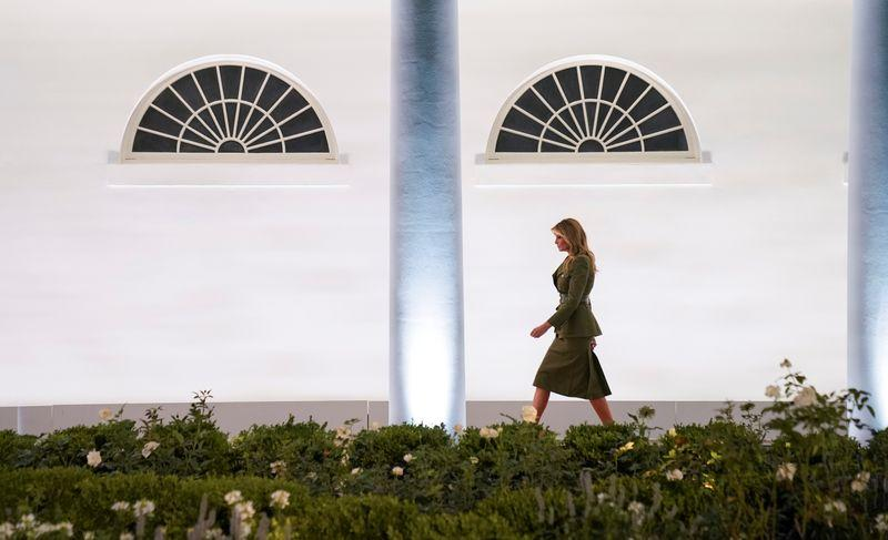 Fact Check Melania Trump S Rose Garden Redesign Did Not Remove Rose Bushes From All First Ladies Since 1913 Reuters