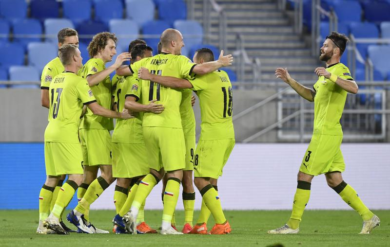 Czechs beat Slovakia 3-1 in Nations League derby