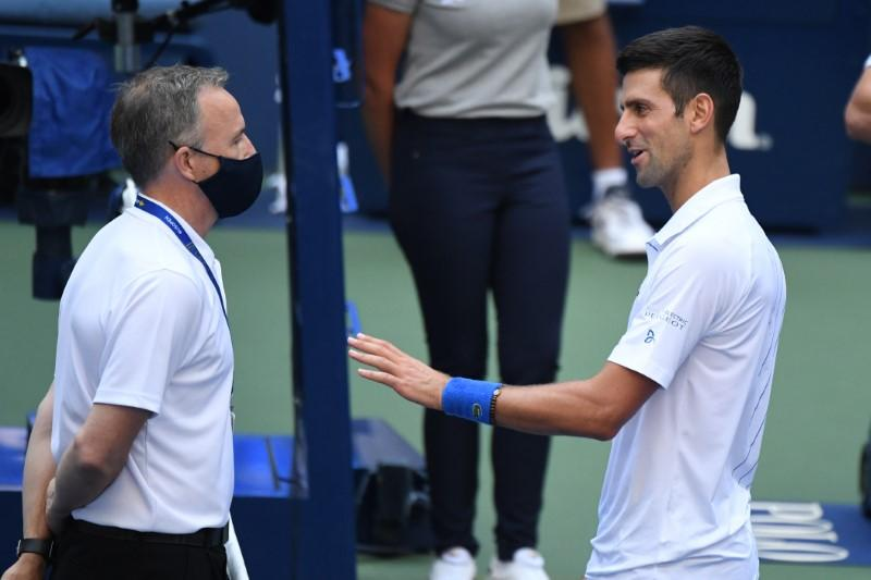 Reaction To Djokovic S Disqualification From U S Open Reuters
