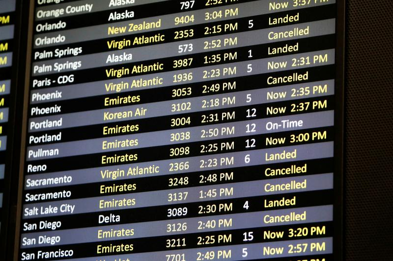 U.S. proposes to waive minimum flight requirements for airlines until March 2021