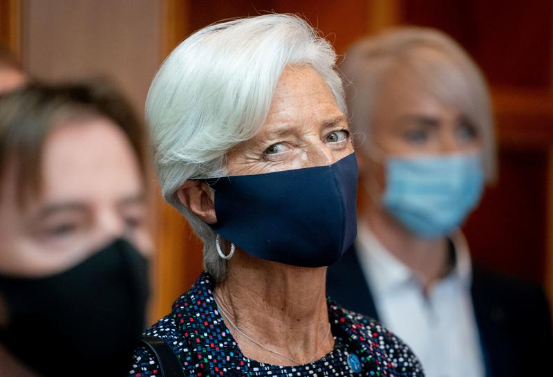 Euro zone governments must spend heavily amid recovery - Lagarde  image