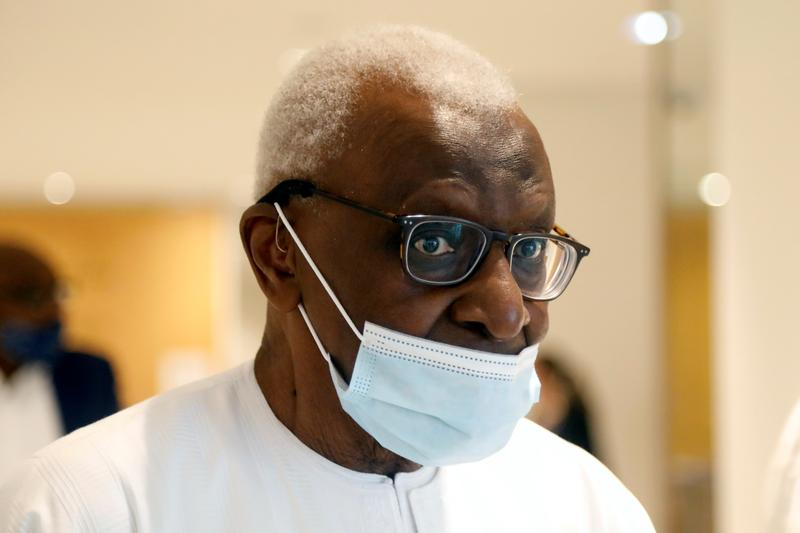 Lamine Diack: Former IAAF head found guilty of corruption and jailed