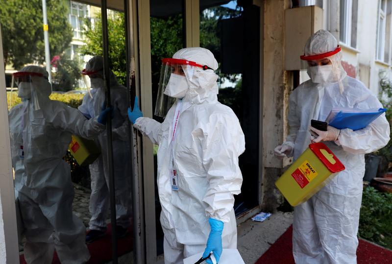 Turkey's coronavirus cases exceed 300,000 - health ministry - Reuters