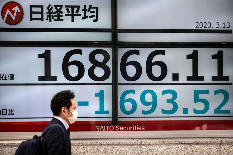 Stocks down on fresh lockdown worries, banking sell-off; dollar rises
