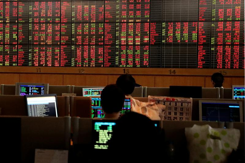 Global Markets: Asia shares weaker on lockdown worries, banking sell-off