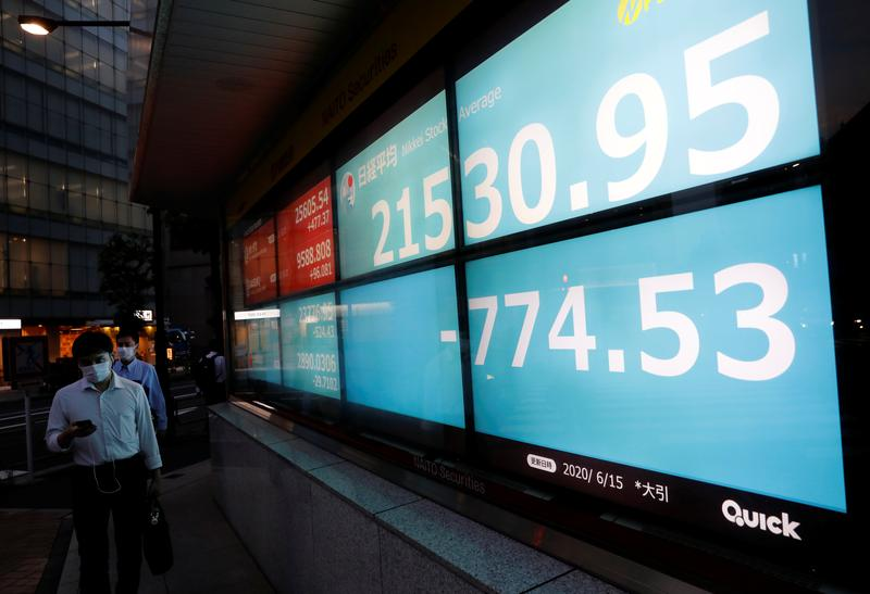 Asian stocks set to gain after Wall Street's tech bounce