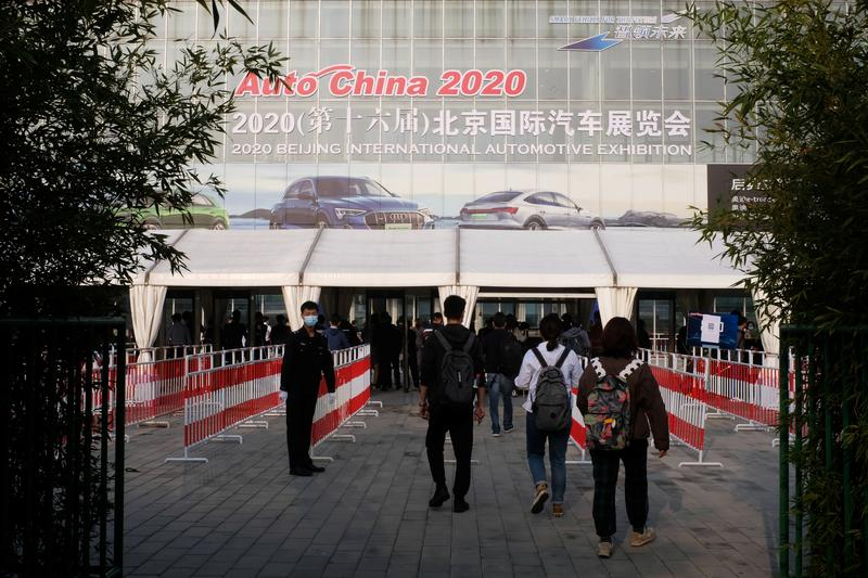 Beijing autoshow: China's back, EVs booming, outlook uncertain | Reuters