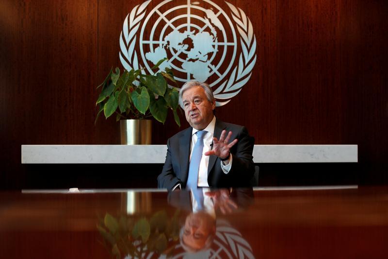 IMF、資金提供拡大を 途上国の新型コロナ支援=国連事務総長