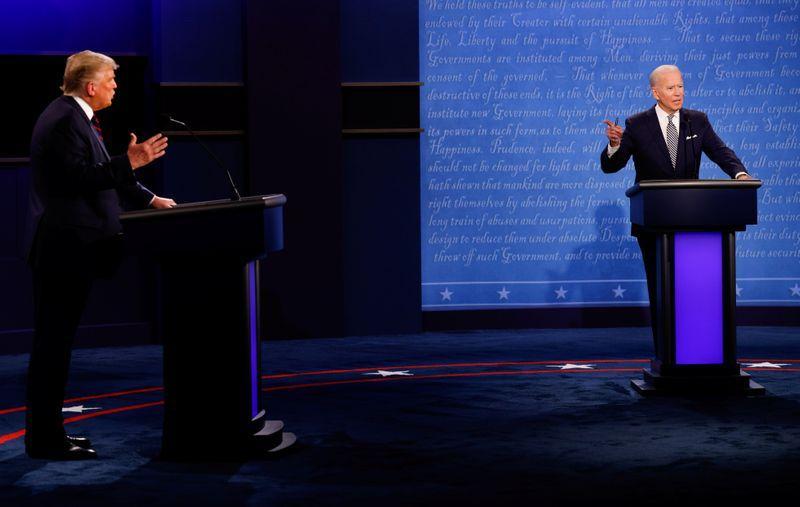 Chaos reigns in acrimonious first Trump-Biden debate