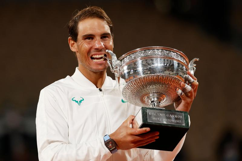 King Nadal continues Paris reign with record-equalling 20th Slam   Reuters
