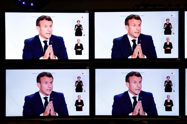 France's Macron announces nightly curfews to beat back coronavirus