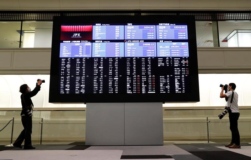 Asian shares retreat as coronavirus surge hits sentiment – Reuters