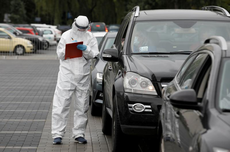 Poland reports new daily record of 132 coronavirus-related deaths
