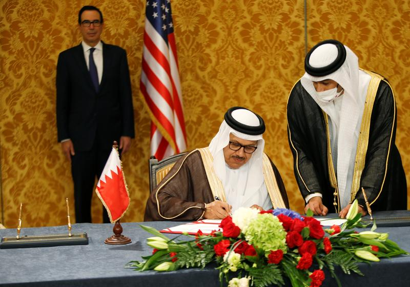Israel and Bahrain Formalise Ties During Ceremony Attended by U.S. Officials