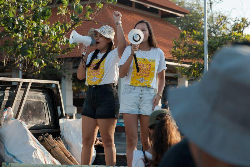 After Taking on Plastic, Bali Sisters Want Bar Raised on Climate Action