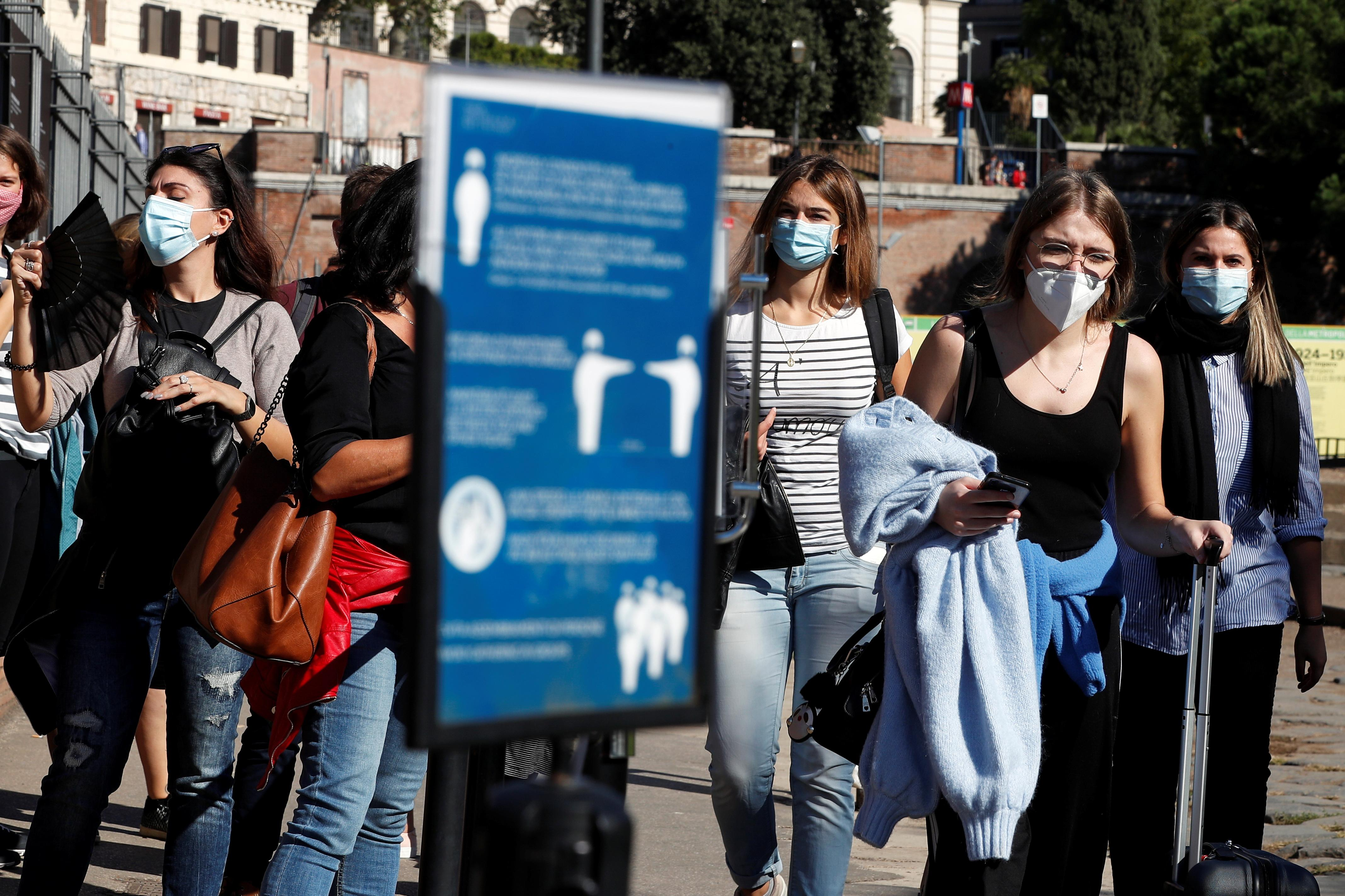 Europe daily coronavirus cases double in 10 days, reports 200,000 daily cases for the first time