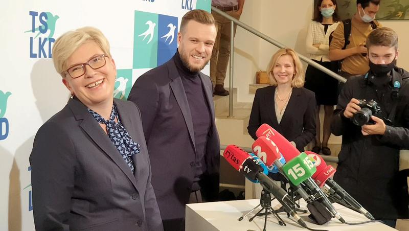 Lithuanian opposition scents victory in run-off vote