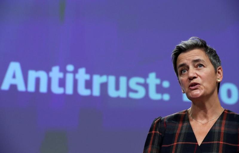 EU antitrust chief does not see breakup of tech giants-paper