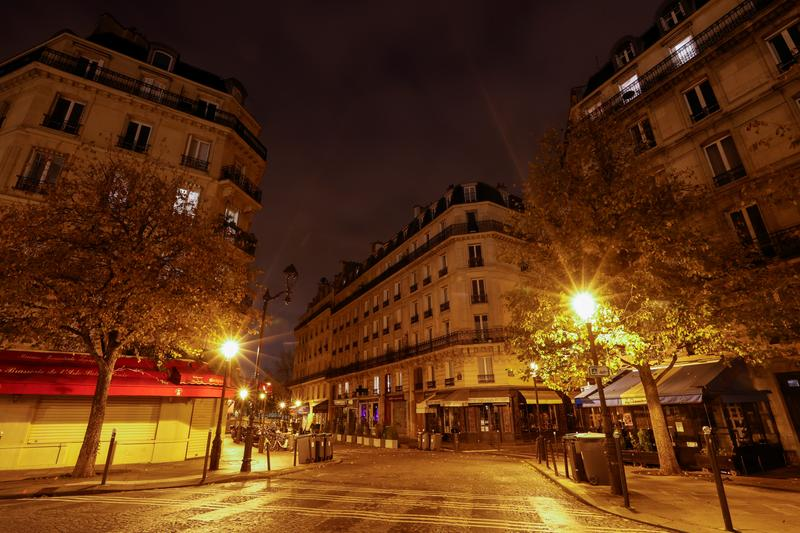 Paris Enters Month-Long Lockdown as France Faces Third Wave of Coronavirus Infections