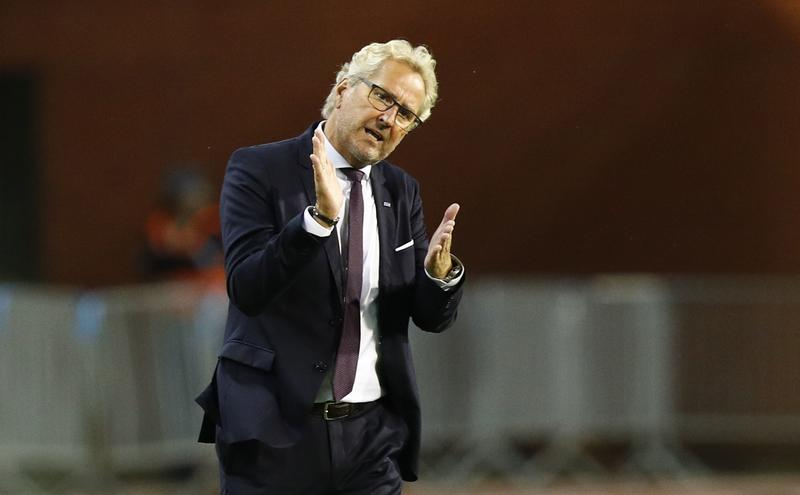 Iceland soccer coach Hamren to step down after England game