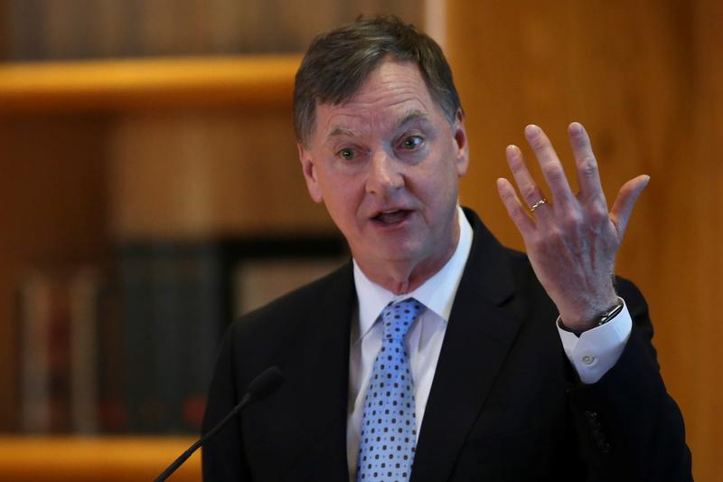 Fed's Evans sees no rate hikes until late 2023, maybe 2024
