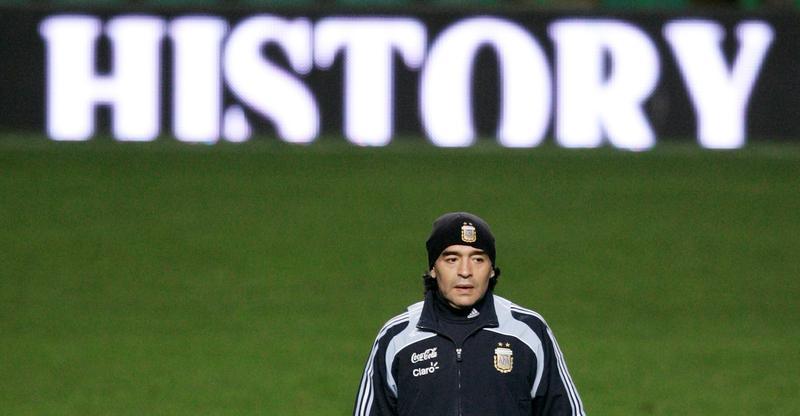 Diego Maradona, Argentine soccer genius who saw heaven...