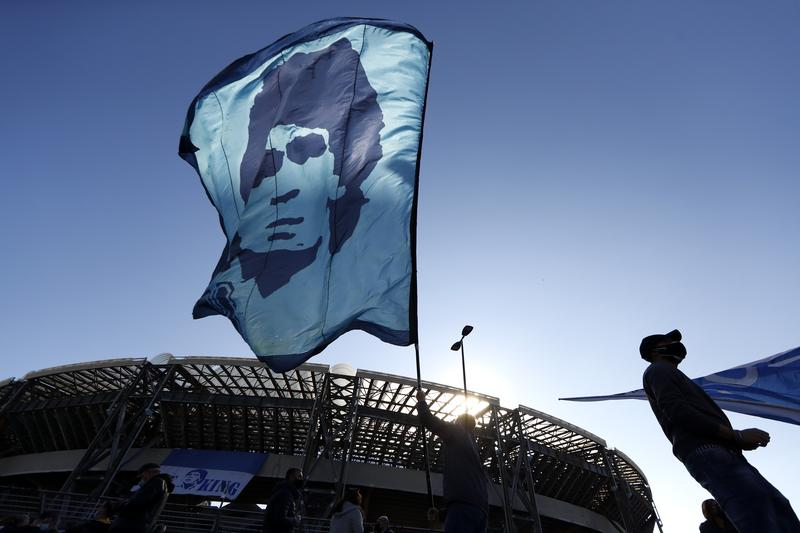 Fans Pay Tribute To Maradona In Napoli - glbnews.com
