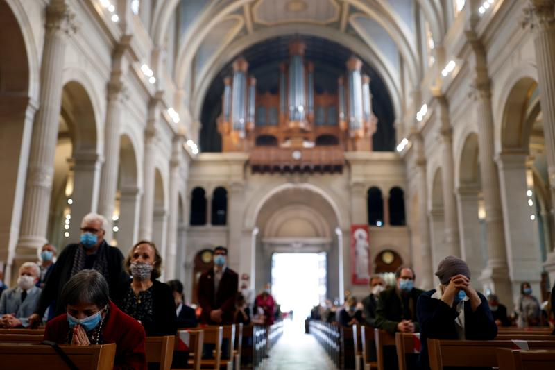 Pew Report Finds 42% of Religious American Adults Attended In-Person Services at Least Once in the Past Month